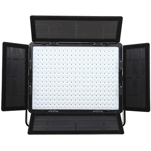 Falcon Eyes lp-2805td 140W Video Light Panel CRI9517000lux 3000–8000K Color Temperature Adjustable with DMX System Professional LED Light for Outdoor Use Studio Shooting Oro Micro Filming