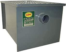John Boos GT-8 Carbon Steel Grease Interceptor, 14.2