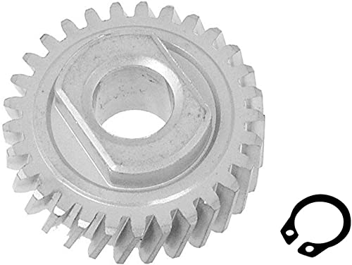 high quality 9706529 lowest online Stand Mixer Worm Follower Gear with 9703680 Circlip, Kitchen Aid Accessory, Replaces AP3594375 WP9706529 online sale
