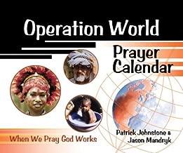 Operation World Prayer Calendar (Operation World) by Patrick Johnstone (2001-10-01)