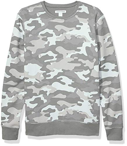 Men Grey Crew Neck Sweaters