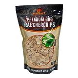 grillart XL Premium Räucherchips Buche für EIN besonderes Raucharoma - sehr rauchaktives Räucherholz/Holzhackschnitzel - 100% natürliches Baumholz für einen einzigartigen Grillgeschmack...