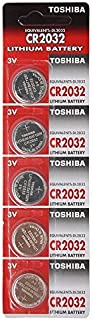 TOSHIBA CR2032 3V Lithium Battery 1PACK (5PCS) シングルユースバッテリー [並行輸入品]