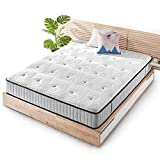 Mellow 10 Inch EIRA Hybrid Mattress Twin - Pocket Spring Gel Memory Foam, Quilted Top, Oeko-TEX and CertiPUR-US Certified