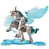 Breakout Beasts Mega Construx Blazeburst - Huevo Ciego Serie 4   Huevo Misterioso identificado, sin Abrir, Pegasus Blanco