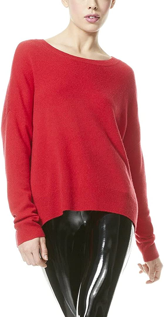 Alice + Olivia Roma Pod Cashmere-Blend Sweater