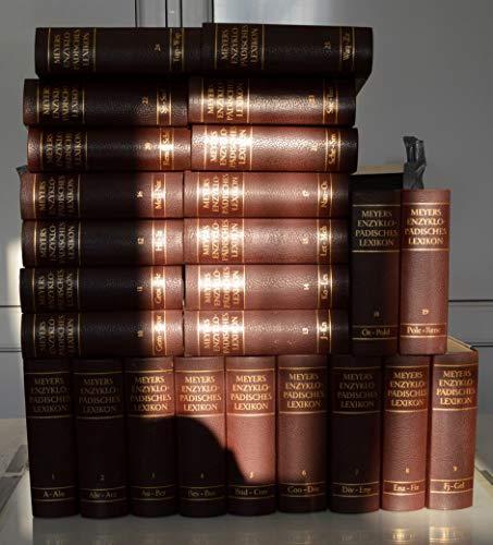 Meyers Enzyklopädisches Lexikon in 25 Bänden.