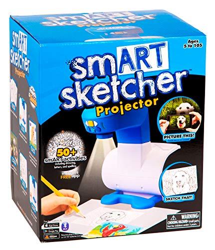 Boti 35970 - Smart Sketcher, App gesteuerter Zeichen Projektor, Fotos und Bilder können auf Papier projiziert und nachgezeichnet werden