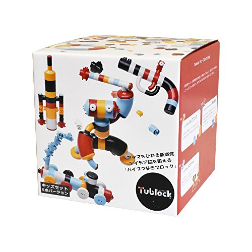 チューブロック キッズセット5色 TB-022