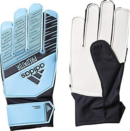adidas Predator Training Goalkeeper Guantes de Fútbol, Unisex Niños, Azul (Bright Cyan/Black), 6
