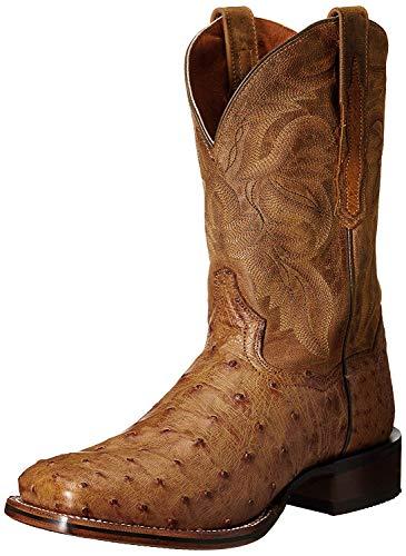 Dan Post Mens Alamosa Square Toe Tan Boots 10.5