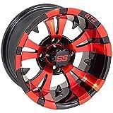 GTW Vampire 12x7 Black/Red Wheel