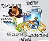 Kit audiovisuel PetraLingua dvd-cd-livres allemand pour enfants