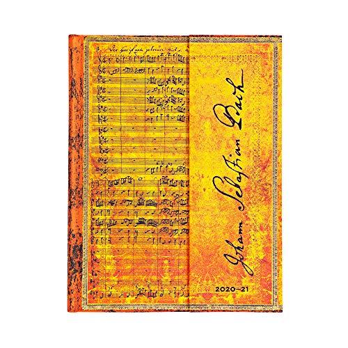 Paperblanks 18-Monatskalender 2020-2021 Bach, Kantate BWV 112 | Vertikal | Ultra (180 × 230 mm)