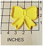 Ribbon Bow Shaped Cookie Cutter and Stamp #1215