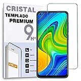 Protector de Pantalla para XIAOMI REDMI Note 9 - Note 9 5G - Note 9T, Cristal Vidrio Templado Premium