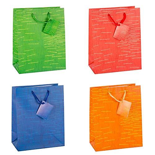 TSI Laura - Bolsas de regalo (tamaño mediano, 12 unidades,