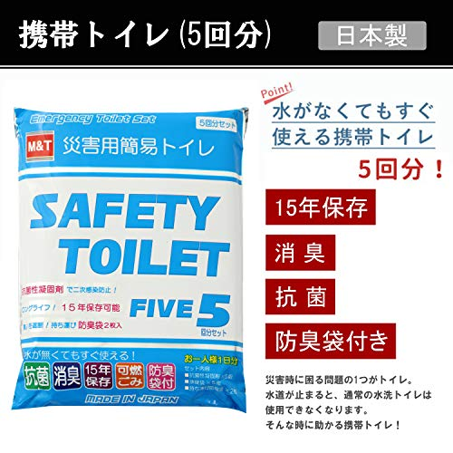 岸田産業『キャリーカート付きリュック防災セット1人用(8ー1400N)』