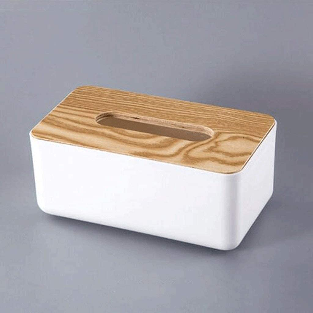 sale XHJTD Wooden Bamboo Square Tissue Box Cover Pull Eco - Friendly Financial sales sale