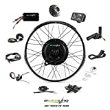 """8. ebikeling 48V 1500W 26"""" Direct Drive Rear Waterproof Electric Bicycle Conversion Kit (Rear/LED/Thumb)"""