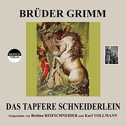 Das tapfere Schneiderlein audiobook cover art