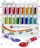 Original Stationery Set Glitter Extra Sottile – Brillantini per Unghie, Corpo e Viso –...