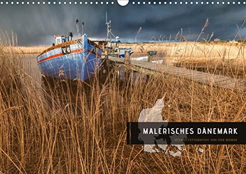 Malerisches Dänemark (Wandkalender 2021 DIN A3 quer)
