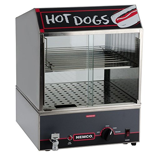 Nemco 14' Hot Dog Steamer w/ Low Water Indicator