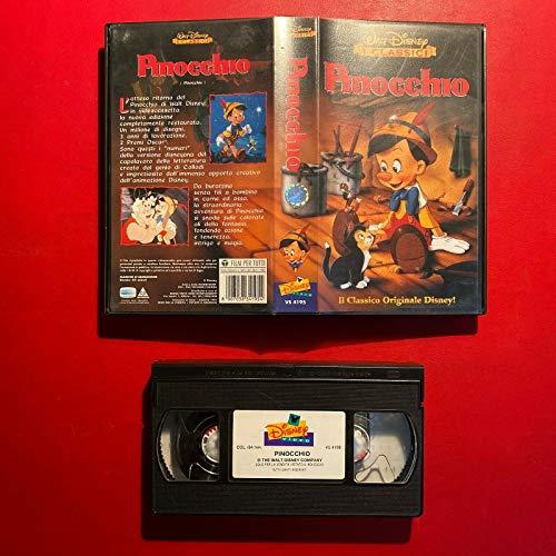 Walt Disney Pinocchio - Vhs - I Classici -1997