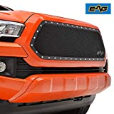 EAG Grille Rivet Stainless Steel Wire Mesh Grill Insert Fit for 2016-2021 Tacoma