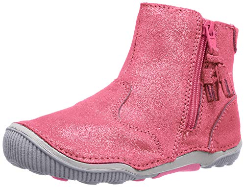 Stride Rite Baby-Girl s SRT Zoe Ankle Boot, Pink, 4 W US Toddler
