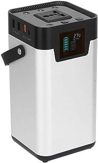 Zwindy Central eléctrica portátil | Generador Solar de 200 W 52500 mAh, pequeño generador de energía, Fuente de alimentación móvil para Viajes de Campamento al Aire Libre, 220 V.(yo)
