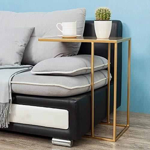 Ccgdgft Huishoudelijke Multifunctionele nachtkastje, Sofa Side End Tafel Tv Lade Bijzettafel C Gevormde Tafel Laptop Houderend Stand Bureau Koffie Bijzettafel