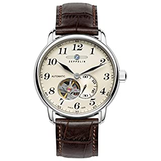 Zeppelin Mixte Chronographe Quartz Montre avec Bracelet en Cuir 7666-5 (B00QVCJ746) | Amazon price tracker / tracking, Amazon price history charts, Amazon price watches, Amazon price drop alerts