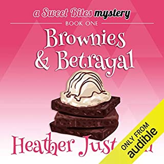 Brownies & Betrayal audiobook cover art