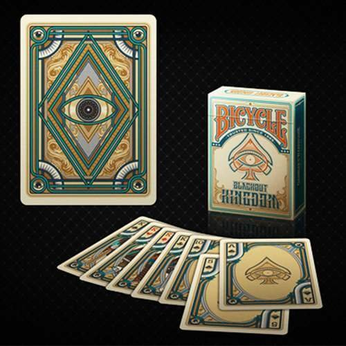 BRIMSTONE RED BICYCLE DECK PLAYING CARDS BY GAMBLERS WAREHOUSE MAGIC TRICKS GAFF