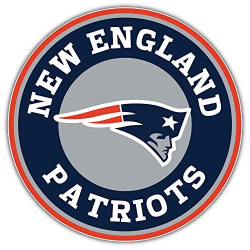New England City Patriottz Football Die-Cut Sticker - Logo Sport Decal 5'' X 5''