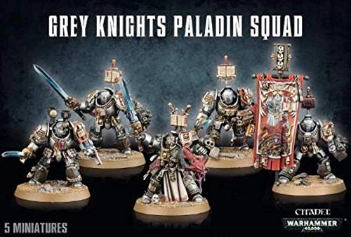 Games Workshop 99120107014' Grey Knights Paladin Squad Plastic Kit