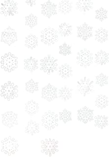 Christmas Snowflake String Foil, 6 Ct.   Party Decoration