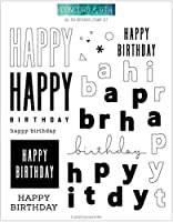 """Concord & 9th Clear Stamps 6""""X8""""-All The Birthdays"""