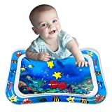 Dreampark インフレータブルお腹タイムウォーターマット 幼児用 アクティビティセンター 赤ちゃんの刺激成長 赤ちゃんのおもちゃ 6~12ヶ月 26インチ×20インチ