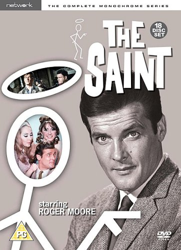 The Saint: The Complete Monochrome Series [DVD] [Reino Unido]