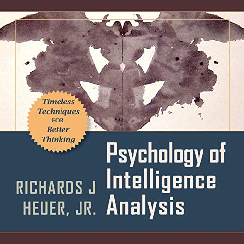 Psychology of Intelligence Analysis  By  cover art