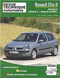 Rta 666.1 - Renault Clio 2, Essence phase 2, 1.2/1.4/1.6, depuis 6/2001