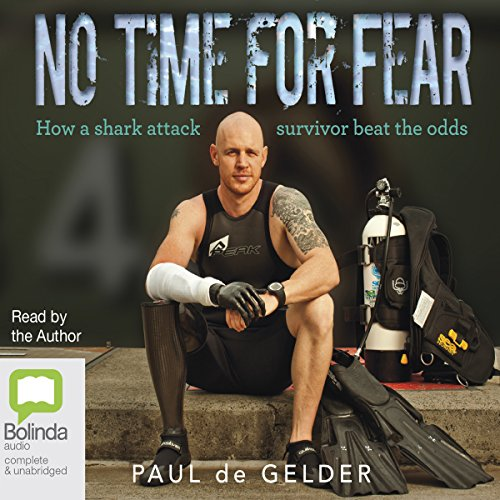 No Time for Fear audiobook cover art
