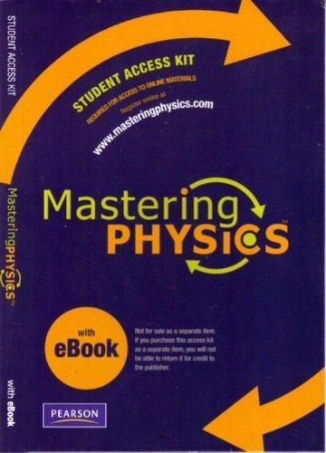 By Pearson - MasteringPhysics with Pearson eText Student Access Kit (ME Compon (student access code) (2008-07-10) [Printed Access Code]