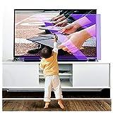 Helikim 50' 1095x616mm LCD Screen Protector/Anti Glare TV Screen Protector/Matte Protective Film,...