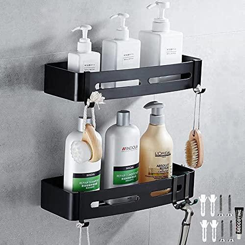 Shower Caddy Shower Organizer Shower Racks Hanging Shower Basket Bathroom Organizer Shower Shelf 2pcs Shower Caddies For Bathroom With Hooks