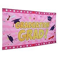 ABOOFAN 卒業パーティーバナー写真小道具ブース背景屋内屋外用卒業装飾2021卒業パーティー用品アソートカラー2