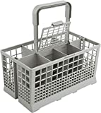 Dishwasher Cutlery Basket (9.5 x 5.4 x 4.8 inches) Compatible...